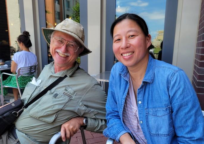 ME and Bob Radina
